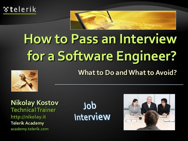 Tips on how to interview a software engineer?
