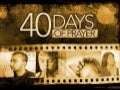 40 days of prayer basics & why