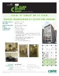 40 st. clair west broker flyer
