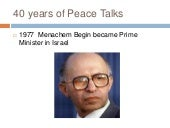 40 years of peace talks