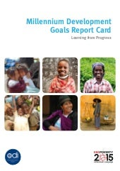 Millennium Development Goals Report...