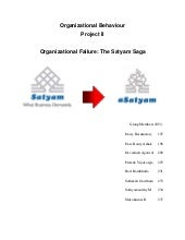 41741272 project-ii-failure-of-satyam3