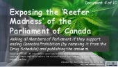 Exposing the Reefer Madness of the Parliament of Canada 4of10 dreeshen goguen