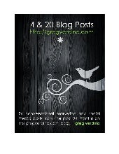 4&20 Blog Posts: a Marketing eBook