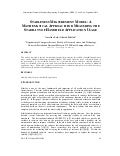 STABLENESSMEASUREMENTMODEL: A MATHEMATICAL APPROACH FORMEASURING THE STABILITY OF HANDHELD APPLICATION USAGE