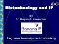 Biotechnology and IP