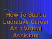 How to Start a Lucrative Career as ...