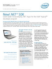 New Dot Net SDK