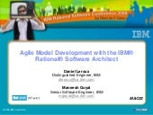 Agile Model Developement-  Daniel L...