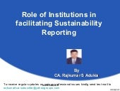 05 Sustainability reporting