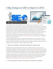 4 big changes in seo to expect in 2015