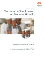 The Impact of Remittances
