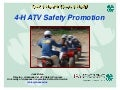 ATV Safety Summit: Traning Innovations - 4-H ATV Safety Program (Arkansas)