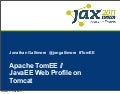Java EE | Apache TomEE - Java EE Web Profile on Tomcat | Jonathan Gallimore