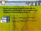 On the processing of aerial LiDAR d...