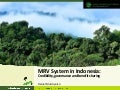 MRV System in Indonesia: 