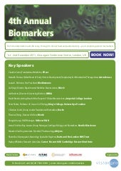 4th Annual Biomarkers (2011) Pp
