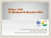 Urban CDM Challenges & Opportunitie...