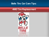 Belle Tire Car Care Tips: 4WD Tire ...