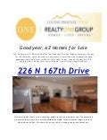 Realty One Group Home For Sale Goodyear,Estrella Mountain Ranch & Palm Valley