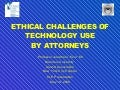 5 19 09 Brandeis Lawyer Technology CLE