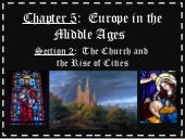 5 2 the church and the rise of cities