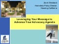 5.5 Leveraging Your Message to Advance Your Advocacy Agenda