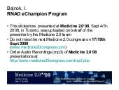 RNAO eChampion Program [5 Cr2 900...