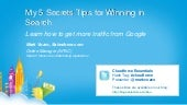 Cloudforce Essentials 2012 - 5 Secr...