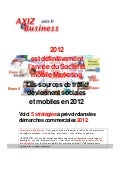 5 sources de trafic des sites web en  2012