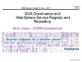 SOA Governance and WebSphere Servic...