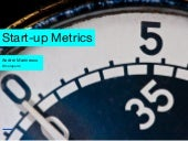 Fundamental Metrics for Startups