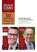 The Global Chief Marketing Officer
