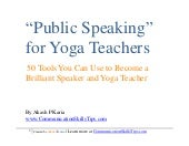50 Public Speaking Techniques (for ...