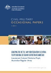 Civil-Military Occasional Paper 1/2...