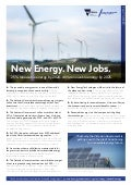New Energy New Jobs - Victorian Government Fact Sheet 2016