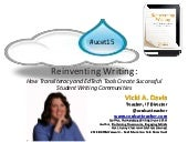 Reinventing Writing April 2015 Edition #ucet15