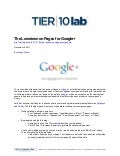 The Lowdown on Pages for Google+
