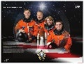 STS-135 Space Shuttle Atlantis' Crew Poster