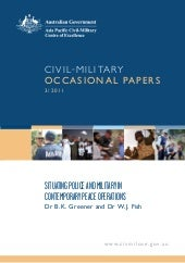 Civil-Military Occasional Paper 3/2...