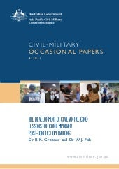 Civil-Military Occasional Paper 4/2...