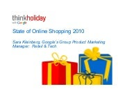 Think Holiday Webinar 8.24.10