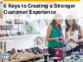 Creating a Strong Consumer Experience: 6 Keys to Retail Success