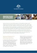 Fact Sheet: Protection of Civilians