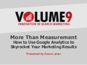 How to Use Google Analytics to Skyr...