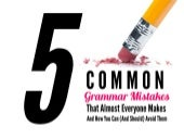 5 Common Grammar Mistakes