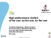 DPDK Summit - 08 Sept 2014 - NTT - High Performance vSwitch