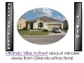 Orlando Villas to Rent