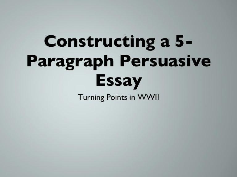 paragraph essay