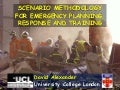 Scenarios for Risk and Disaster Management